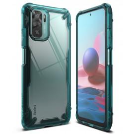 Etui Rearth Ringke do Xiaomi Redmi Note 10 / 10s Fusion-X Turquoise Green