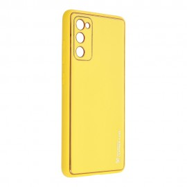 Etui Forcell Leather Case do Samsung Galaxy S20 FE G780 Yellow