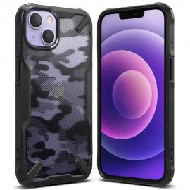 Etui Rearth Ringke do iPhone 13 Fusion-X Camo Moro Black