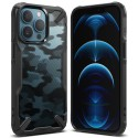 Etui Rearth Ringke do iPhone 13 Pro Fusion-X Camo Moro Black