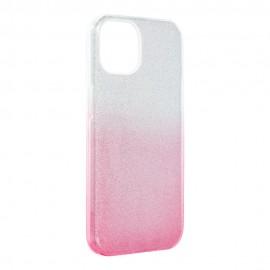 Etui Shining do iPhone 13 Clear/Pink