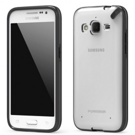 PureGear Slim Shell Samsung Galaxy Core Prime Clear/Black