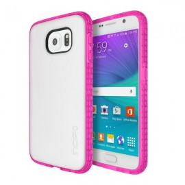Incipio Octane Samsung Galaxy S6 Frost/Neon Pink