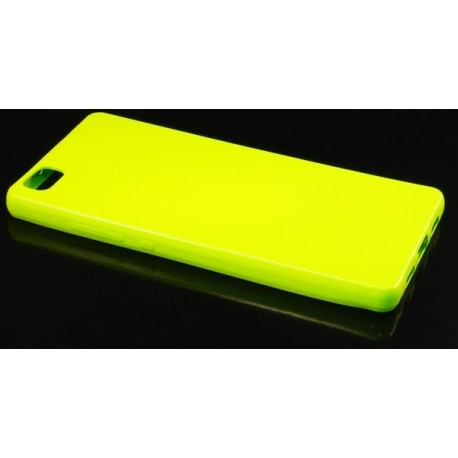 Jelly Case Flash Huawei Ascend P8 Lite Lime