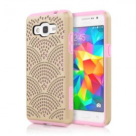 Incipio Dual Pro Detail Samsung Galaxy Grand Prime Champagne/Pink