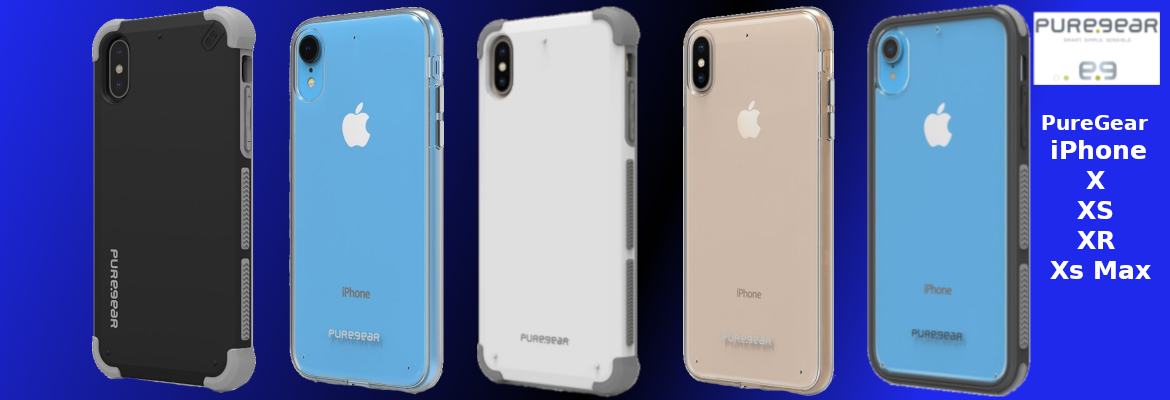 PureGear iPhone X / XS / XR / Xs Max